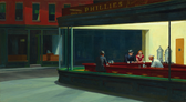 Edward Hopper, Nighthawks (1942) - Chicago, The Art Institute of Chicago, Friends of American Art Collection