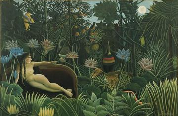 Henri Rousseau, dit Le Douanier Rousseau, Le Rêve, 1910  © 2016. Digital image, The Museum of Modern Art, New York / Scala, Florence